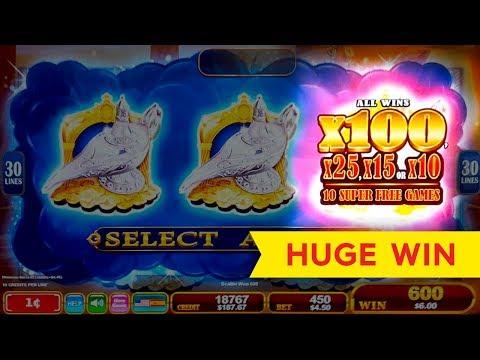 HUGE WIN! Lamp of Destiny Slot – SUPER FREE GAMES – MAX BET!