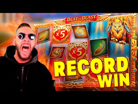 DEUCEACE Record Win 105405€ on Beat The Beast Griffin's Gold slot – TOP 5 Mega wins of the week
