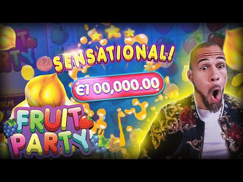 ClassyBeef New Record Win 100.000€ on  FRUIT PARTY Slot  – TOP 5 Biggest wins of the week