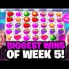 Biggest Wins ever on FRUIT PARTY, GEMS BONANZA and CRAZY TIME and more   Biggest Wins of the Week 5