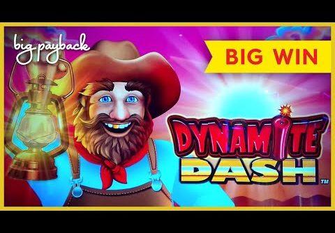 GREAT SURPRISE! All Aboard Dynamite Dash Slot – BIG WIN BONUS!
