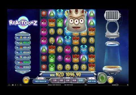 Super Big Win on Reactoonz online slot   Best wins of the week casino