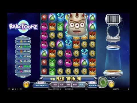 Super Big Win on Reactoonz online slot | Best wins of the week casino