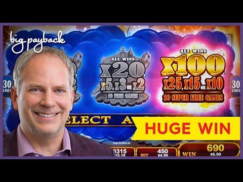 SUPER FREE GAMES, YES!! Lamp of Destiny Slot – HUGE WIN BONUS!