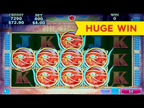 Sekhmet Mystery Slot – HUGE WIN – SUPER FREE GAMES!