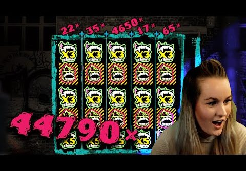 SUPER HUGE INSANE WIN! Streamer Monster Win on Chaos Crew Slot! BIGGEST WINS OF THE WEEK! #60