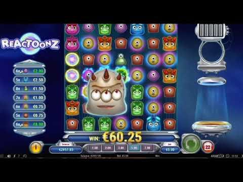MEGA BIG WIN on Reactoonz slot | Best wins of the week casino