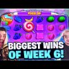 HUGE WIN on FRUIT PARTY, PACHINKO CRAZY TIME and CHAOS CREW SLOTS | Biggest Win of the Week 6