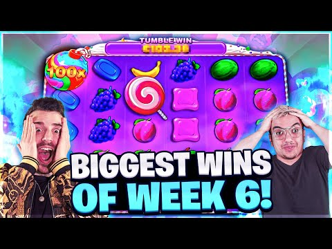 HUGE WIN on FRUIT PARTY, PACHINKO CRAZY TIME and CHAOS CREW SLOTS   Biggest Win of the Week 6