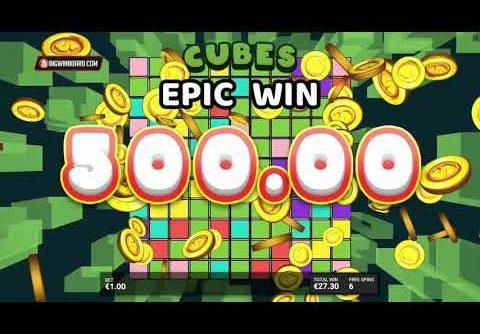 CUBES 2 SLOT 🧊 10,000x WIN! 🧊