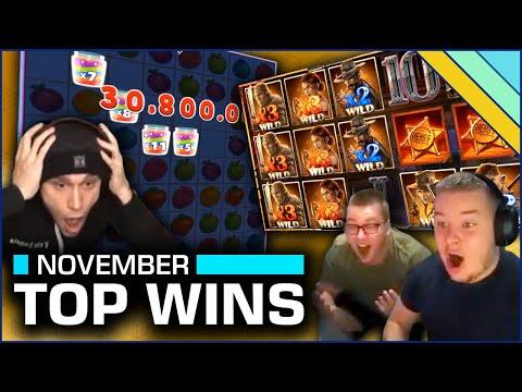 Top 10 Slot Wins of November 2020