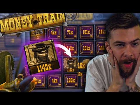 New Huge Win x3200 on Money Train slot- TOP 5 STREAMERS BIGGEST WINS OF THE WEEK