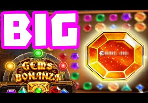 Gems Bonanza 💎 Slot Big Wins Big Bonus Buys 😱 and Big Level Ups HUGE COLOSSAL This Can pay HUGE‼️