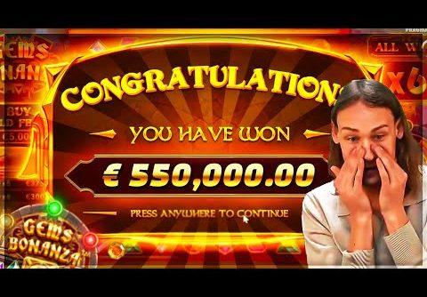 EXTRA MEGA SUPER WIN on Gems Bonanza slot – Casino Slots Big Wins