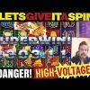 Big Win in Danger! High Voltage slot machine
