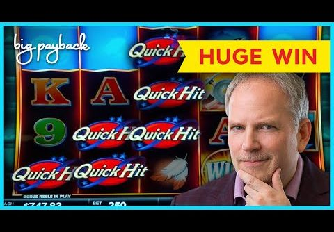 AMAZING, WOW!! Quick Hit Ultra Pays Eagle's Peak Slot – HUGE WIN SESSION!