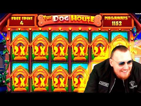 FANTASTIC HUGE MEGA WIN! Streamer Super Win on The Dog House Slot! BIGGEST WINS OF THE WEEK! #57