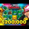 $200,000+ on Razor Shark (1000x Coin) 😱 Biggest Wins Of The Week 21