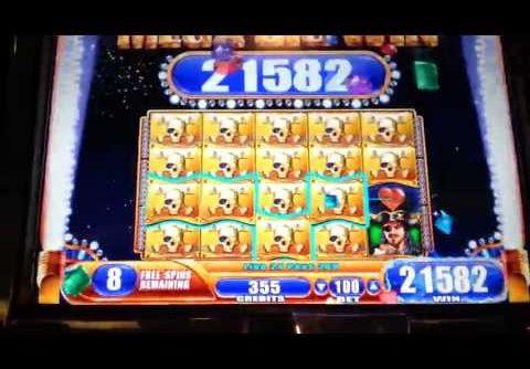 Pirate Ship Mega Big Win WMS Slot Machine