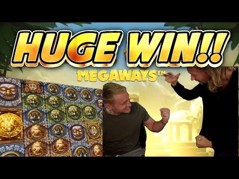HUGE WIN!! GONZOS QUEST MEGAWAYS BIG WIN –  Casino slot from Casinodaddy LIVE STREAM