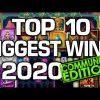 Top 10 – Community Biggest Wins of 2020