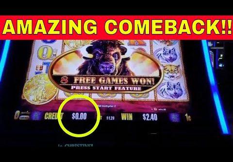 ⭐AMAZING COMEBACK⭐ BIG WIN BUFFALO GOLD #2000 SUBS – Redtint Loves Slots
