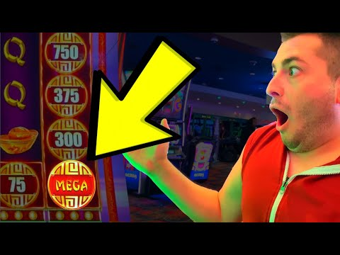 I LAND The MEGA COIN On CASH FALLS Slot Machine!