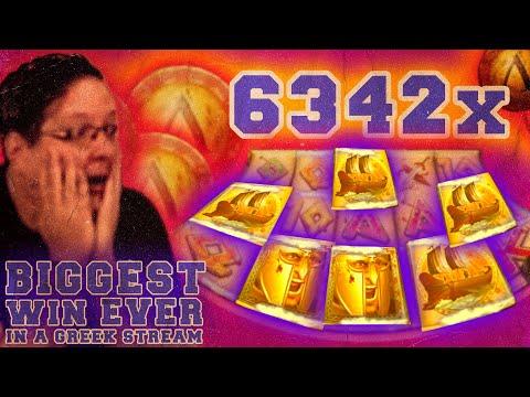6342X – BIGGEST SLOT WIN EVER IN A GREEK STREAM [300 SHIELDS]