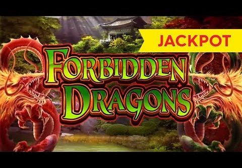 JACKPOT HANDPAY! Forbidden Dragons Slot – $20 BETS, AWESOME!