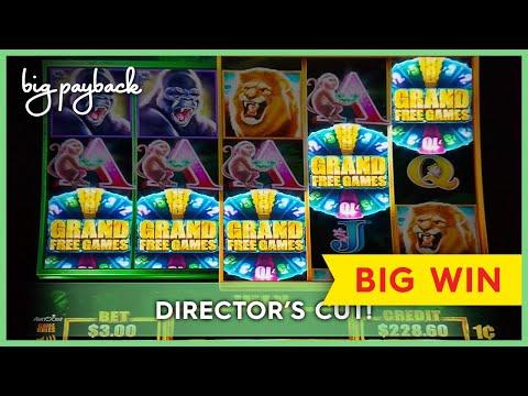 Tarzan Grand Slot – 5 SYMBOL TRIGGER – BIG WIN BONUS! (Director's Cut!)