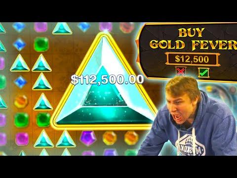 $100,000+ WIN ON A GEMS BONANZA SLOT BONUS BUY!
