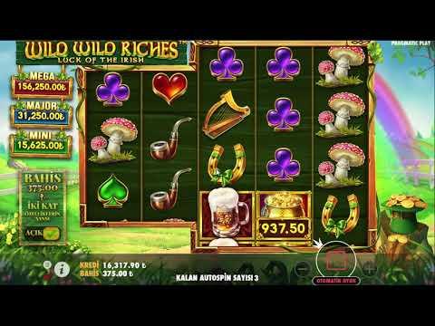 Wild Wild Riches | Akşam Akşam Uçtuk Yapıştırdık Oyunu Duvara Mega Win.. #casino #slot #pragmatic