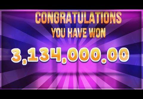 MEGA BIG WIN 3.134.000$ on Jammin Jars 2 slot – Casino Slots Big Wins