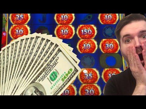 WINNING on Ultra Hot Mega Link Slot Machine!