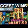 Top 10 BIGGEST WINS on IRON BANK Slot