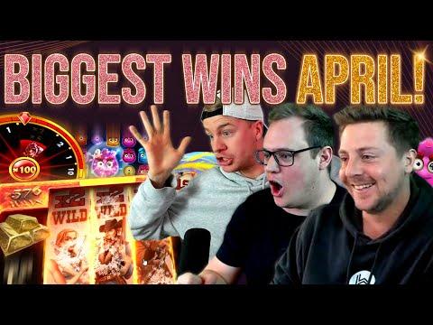 10 Biggest Slot Wins of April!