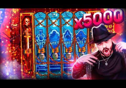 ROSHTEIN Record Win x5000 on Warrior Graveyard slot – TOP 5 Mega wins of the week