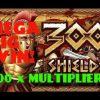 300 SHIELDS SLOT   **  MEGA BIG WIN!!! ** HUGE MULTIPLIER