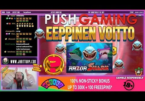 Coin Win!! Mega Big Win From Razor Shark Slot!!