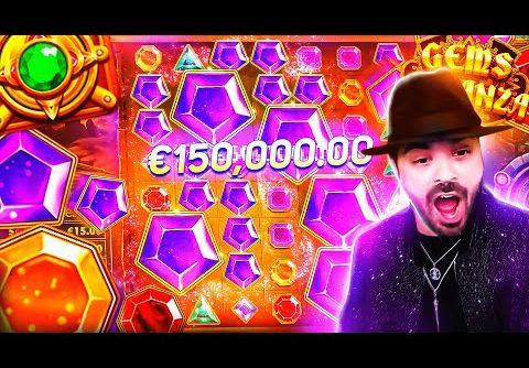 ROSHTEIN New Insane Win 55.000€ on Gems Bonanza Slot – TOP 5 Mega wins of the week