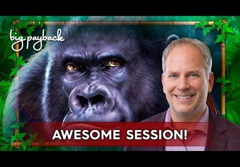 Fort Knox Majestic Gorilla Slot – BIG WIN SESSION, COOL!