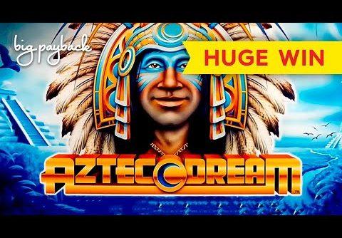 SO CLOSE TO JACKPOT TWICE! Aztec Dream Slot – HUGE WIN SESSION!