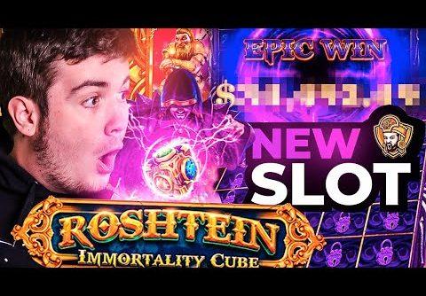 🔮 Une WIN INCROYABLE sur la SLOT de ROSHTEIN !? (Rosh Immortality Cube)