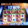 Laredo *MEGA* BIG WIN! Bonus + Progressive Hit WMS Slot Machine