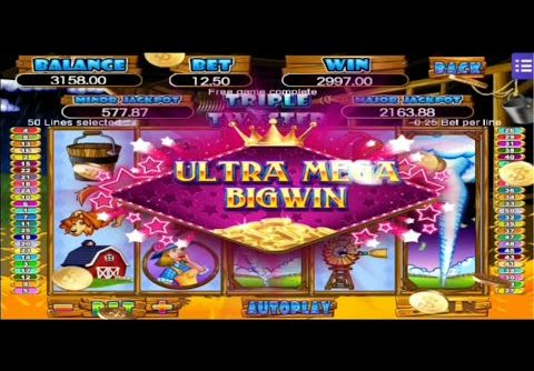 Mega888 in 500 out 3000 😂😂 Triple Twister 😂😂 Victory Slot Game ULTRA MEGA BIG WIN Free Game😱💥