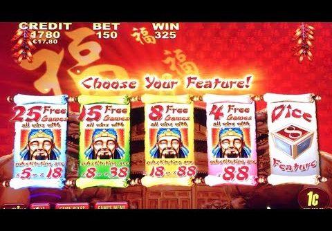 LUCKY 88 Slot Machine – BIG WIN BONUSES  – Aristocrat Pokies – 행운의 88 슬롯 머신 큰 승리 보너스