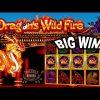 BIG WIN on Dragon's Wild Fire Slot – £1.60 Bet