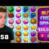 $50000 BONUS BUY on Fruit Party, HUGE WIN on Voodoo Magic – AyeZee Stream Highlights #58