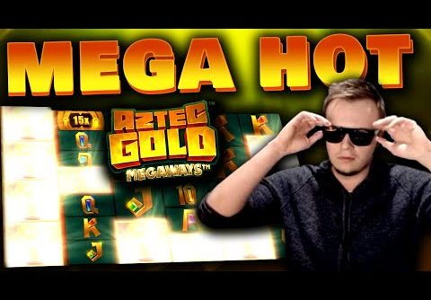 SUPER BIG WINS on Aztec Gold Megaways – Slot Highlights!