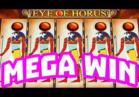 EYE OF HORUS SLOT 🔥 HIGH STAKE BONUS HUNT ULTRA BIG WINS 😱 €20 BET EPIC DOUBLE RETRIGGER BIG WIN‼️